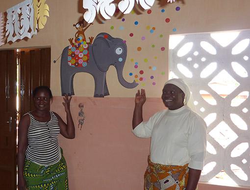 ecole de l'orphelinat d'Abomey 2