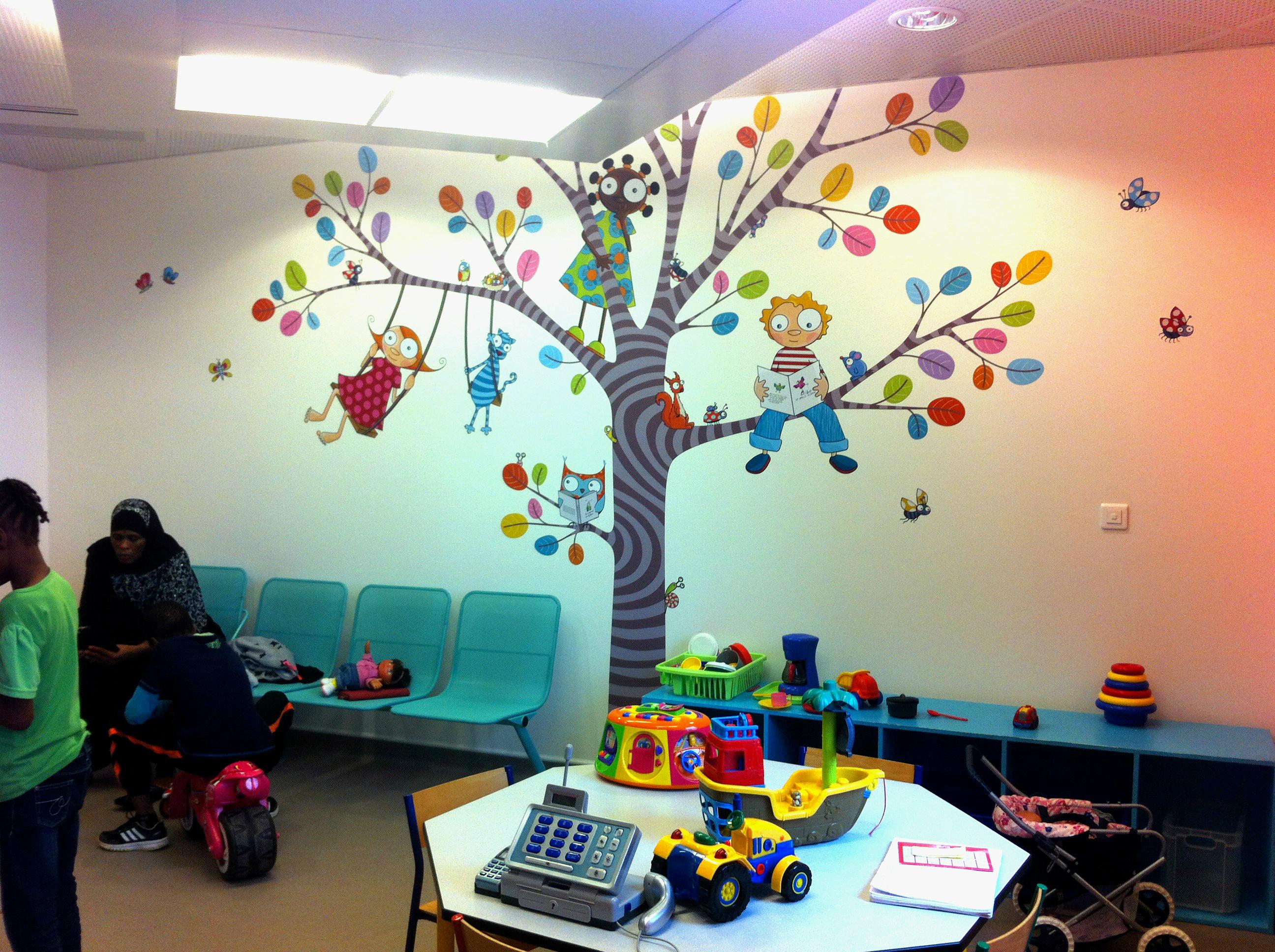 salle d'attente consultation 5