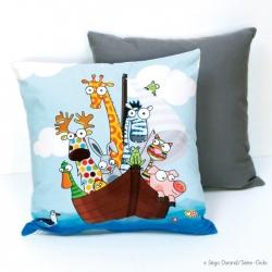 coussin thème mer pour enfant Série Golo