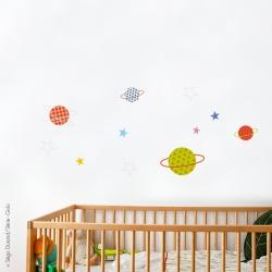Stickers planètes étoiles 2