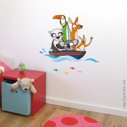 autocollant pour enfant thème mer
