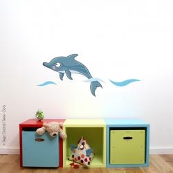Sticker bébé dauphin