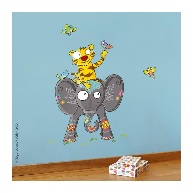 sticker éléphant