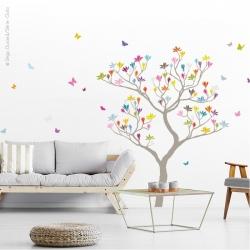 Sticker arbre géant magnolia