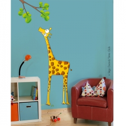 sticker enfant savane