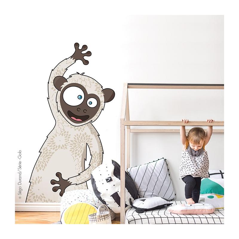 Sticker les champignons d co chambre b b enfant for Stickers para habitaciones infantiles