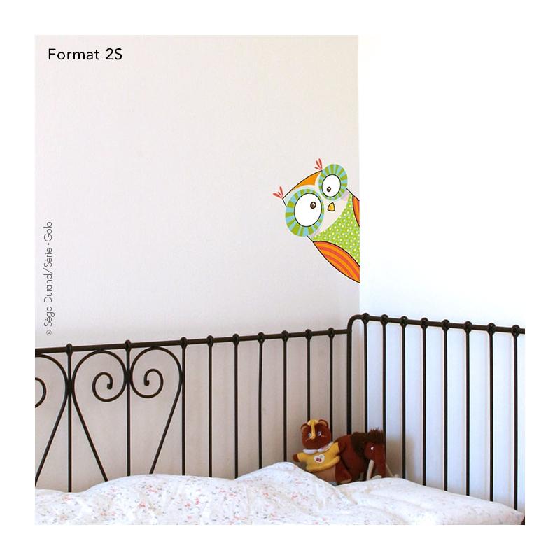 autocollant porte chambre bébé