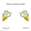 Sticker Quack-quack plane