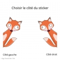 Sticker ballon piou