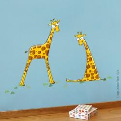 Girafons chambre bébé