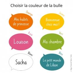 Sticker de porte personnalisé. Fabrication française.