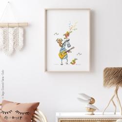 Affiche boogie woogie