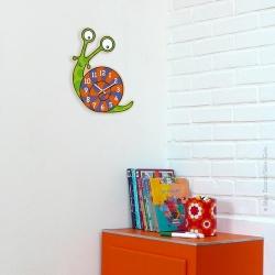 Horloge enfant escargot