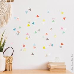 Stickers géométrique muraux