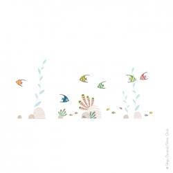 sticker mer pour décorer la chambre de bébé