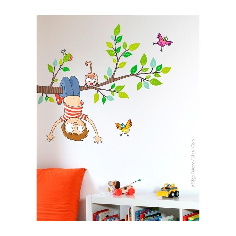 sticker arbre pour enfant