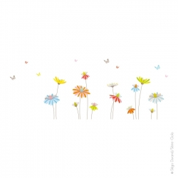 Sticker les marguerites