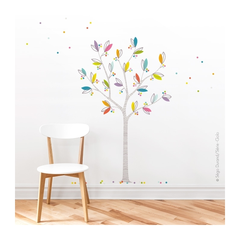 Sticker arbre chambre bébé, décorer votre intérieur.