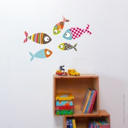 Sticker poissons 2