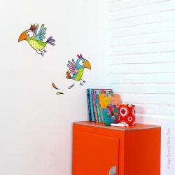 Sticker les perroquets