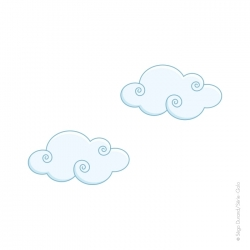 sticker nuage
