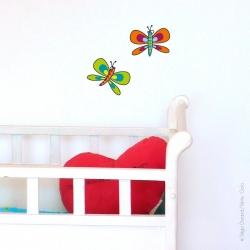 Sticker papillons 2
