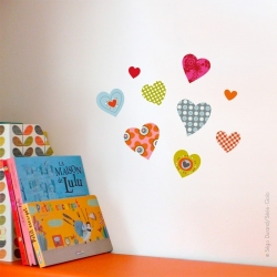 Sticker petits coeurs