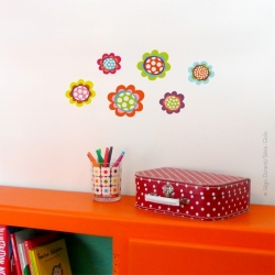 Sticker petites fleurs