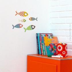 Sticker petits poissons 2