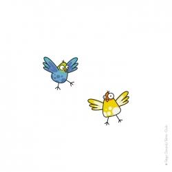 Sticker oiseaux 4