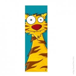 Tableau tête de tigre...
