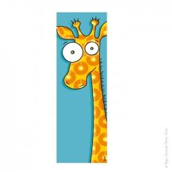 Tableau tête de girafe...