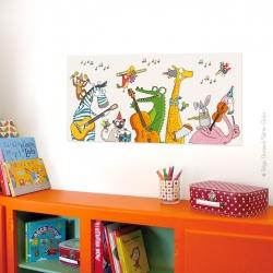 Ce tableau pour chambre d'enfant donnera un air de fête à vos murs.