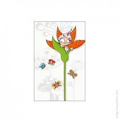 Tableau Violette (22x14 cm)