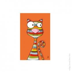 Tableau chat. un produit en couleur comme l'ensemble de nos articles. Fabriqué en France