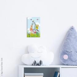 tableau animaux déco bébé
