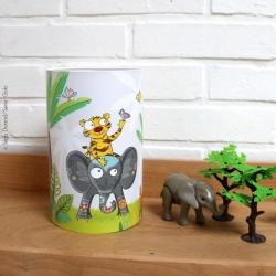 Lampe enfant à dos d'éléphant