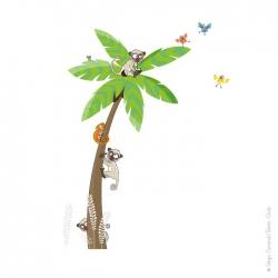 Sticker arbre géant palmier