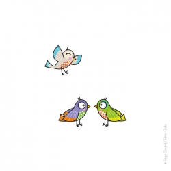 Sticker chambre bébé oiseaux. Un complément pour une déco réussie.