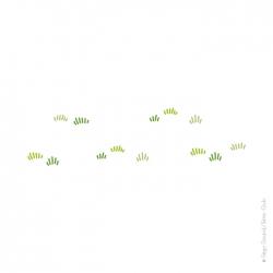 Sticker herbe ou gazon.