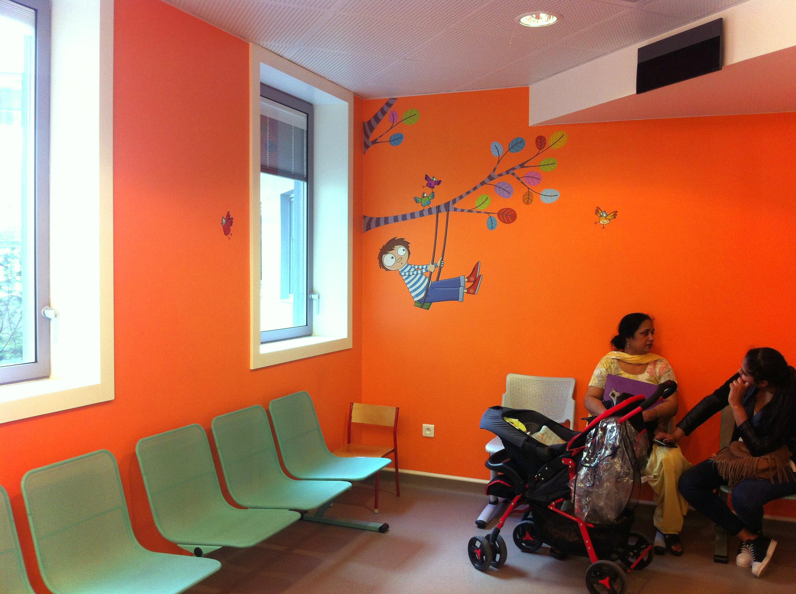 salle d'attente consultation 4