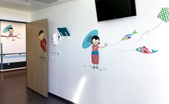 Décoration murale asiatique