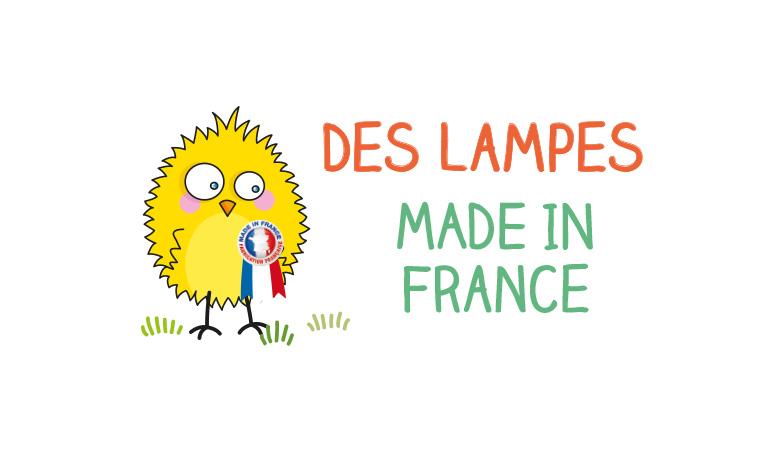 Les lampes Série Golo c'est du made in France