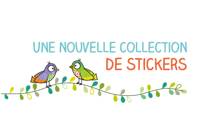 Oh les jolis stickers !