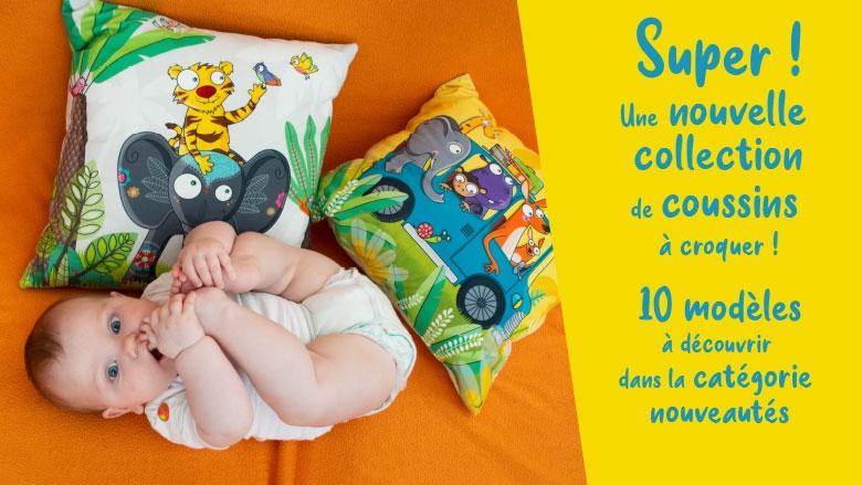 nouveaux les coussins pour bébé Série Golo